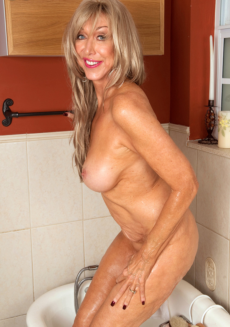 Mature cougar old young