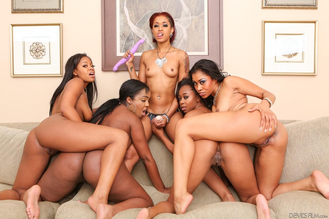 Ebony Lesbians Orgy HQ Porn Search