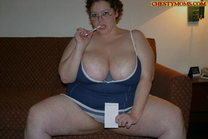 Зрелая тучная телка хочет чтобы ее трахнули. Фото - 6