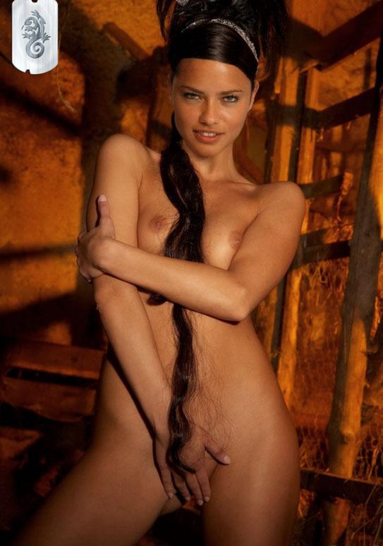 Adriana Lima Nago. Zdjęcie - 93