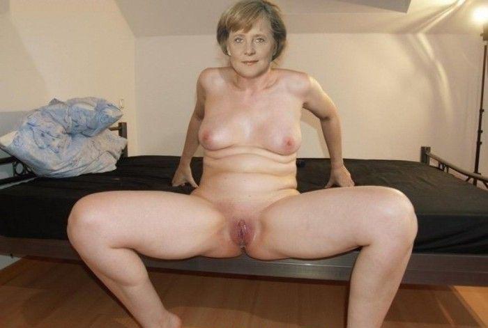 Angela Merkel Nago. Zdjęcie - 1
