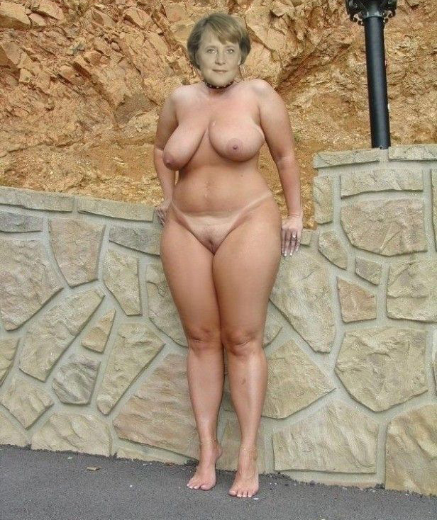 Angela Merkel Nago. Zdjęcie - 10