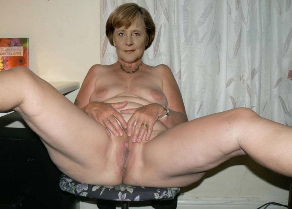 Angela Merkel Nago. Zdjęcie - 110