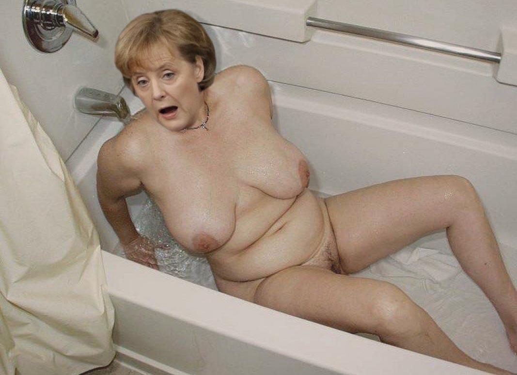 Angela Merkel Nago. Zdjęcie - 111