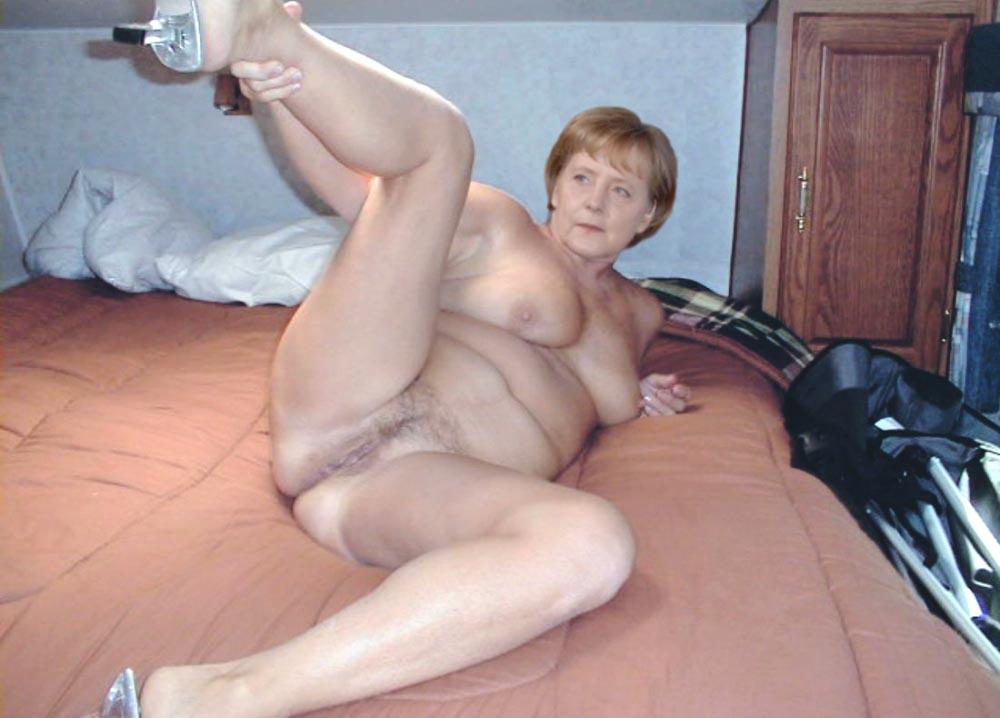 Angela Merkel Nago. Zdjęcie - 112