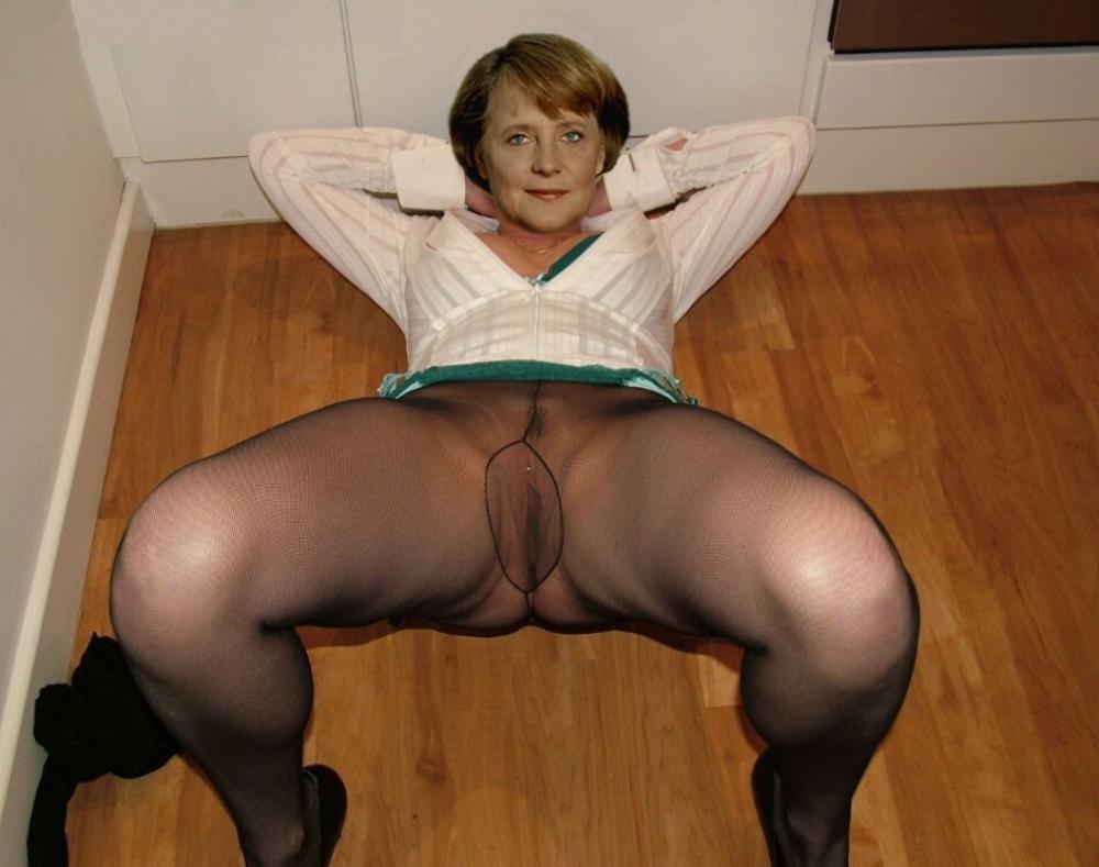 Angela merkel, nackt