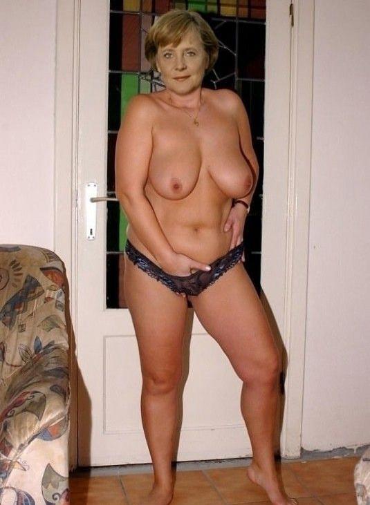 Angela Merkel Nago. Zdjęcie - 2