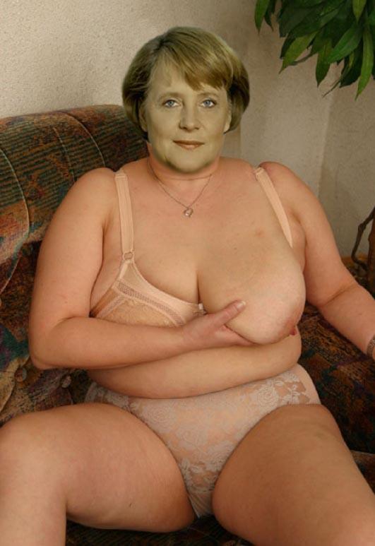 Angela Merkel Nago. Zdjęcie - 28