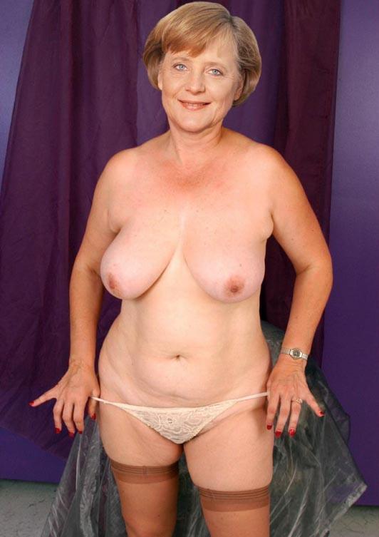 Angela Merkel Nago. Zdjęcie - 33