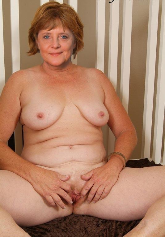 Angela Merkel Nago. Zdjęcie - 37