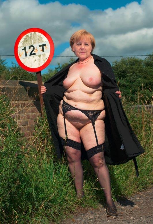 Angela Merkel Nago. Zdjęcie - 46
