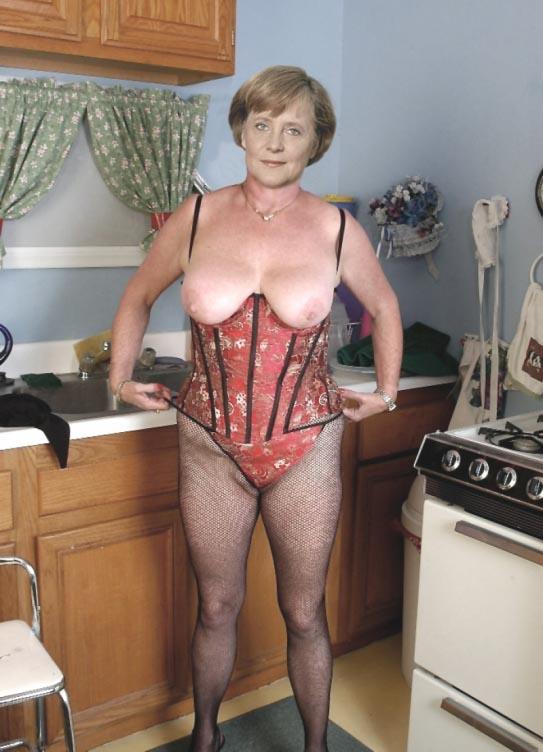 Angela merkel nackt fakes
