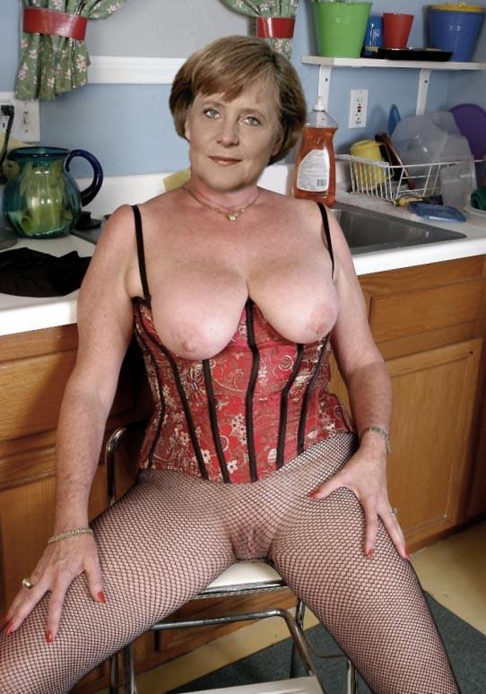 Angela Merkel Nude. Photo - 95