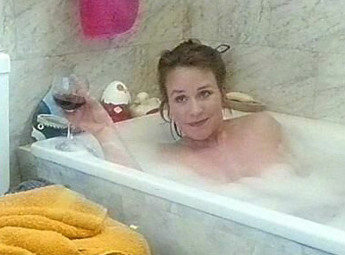 Bettina Kupfer  nackt