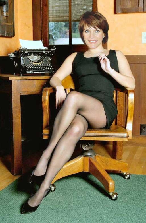 Birgit Schrowange Nackt. Foto - 9