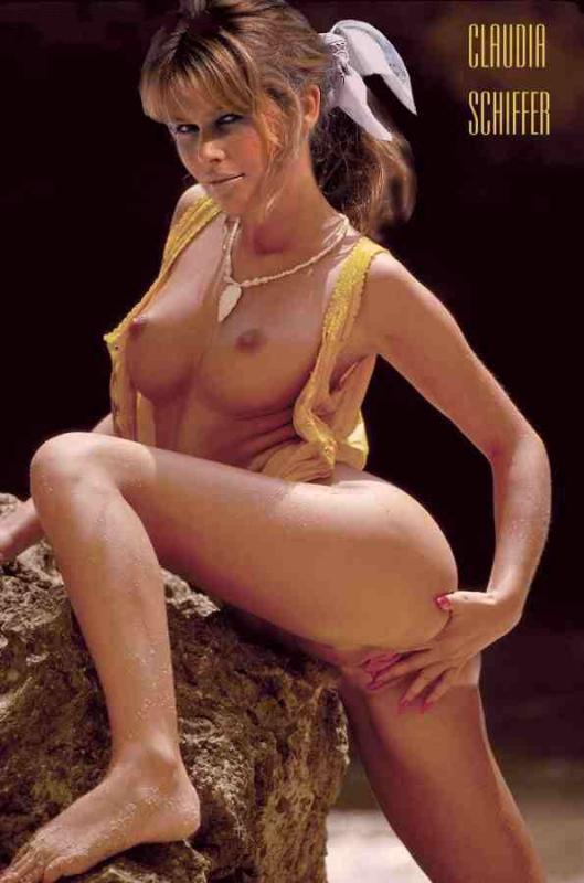Claudia Schiffer Nago. Zdjęcie - 101