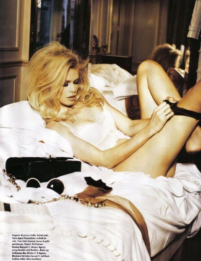 Claudia Schiffer Nackt. Foto - 20
