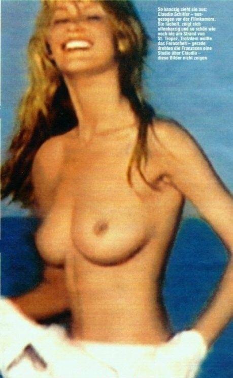 Claudia Schiffer Nackt. Foto - 4