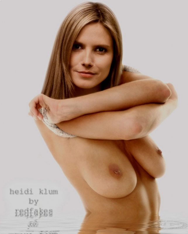Heidi Klum biggest nude collection. Gallery - 4
