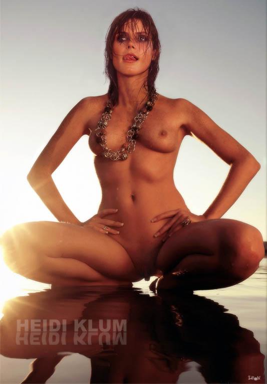 Heidi Klum Nude. Photo - 167
