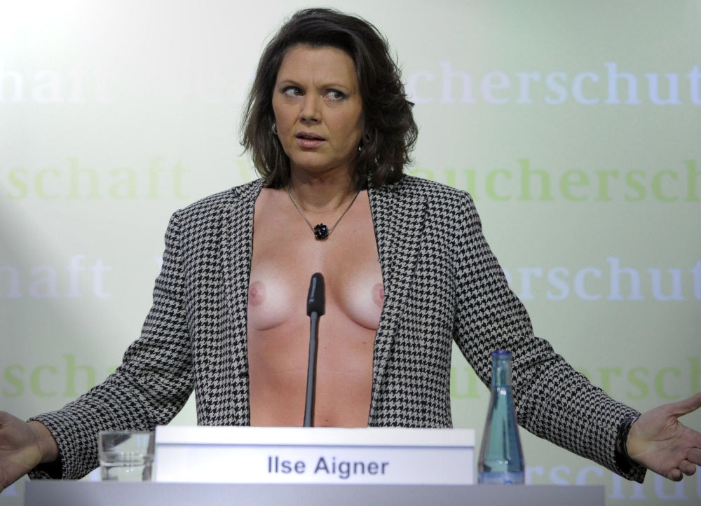 Ilse Aigner Nackt. Foto - 15