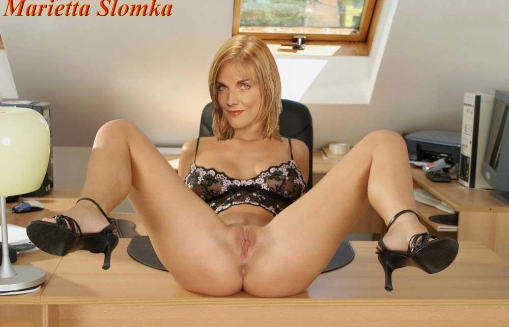 Marietta Slomka Nackt. Foto - 36