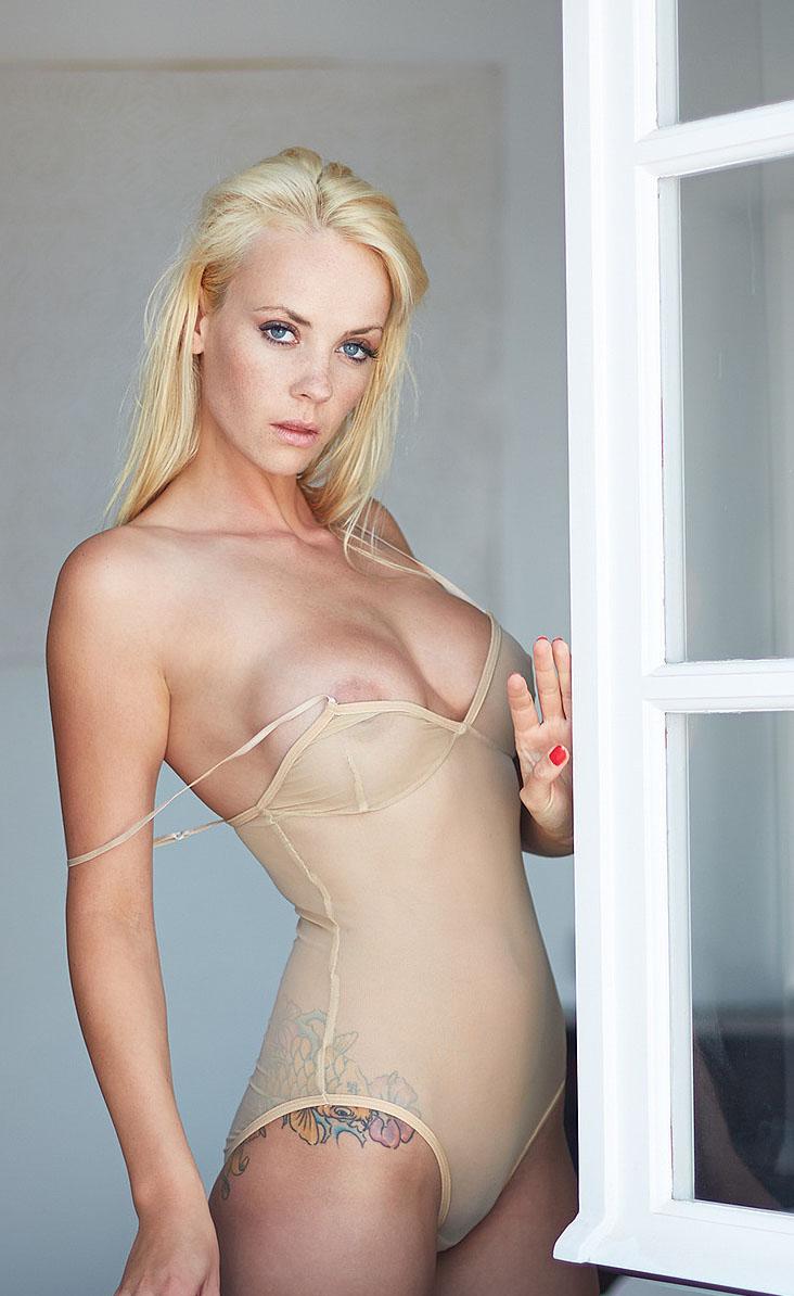 """Sarah Domke: """"Alle wollen mich nackt sehen""""."""