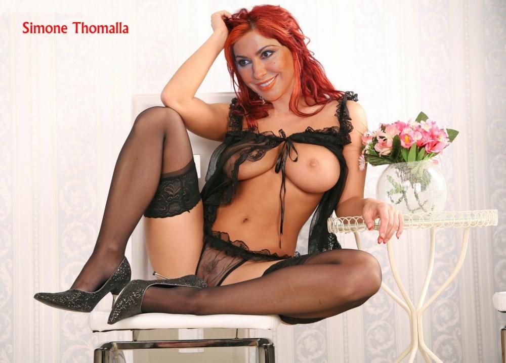 Simone Thomalla Nackt. Foto - 44