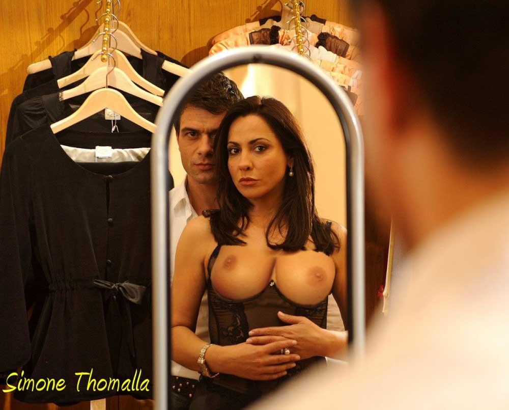 Simone Thomalla Nackt. Foto - 50