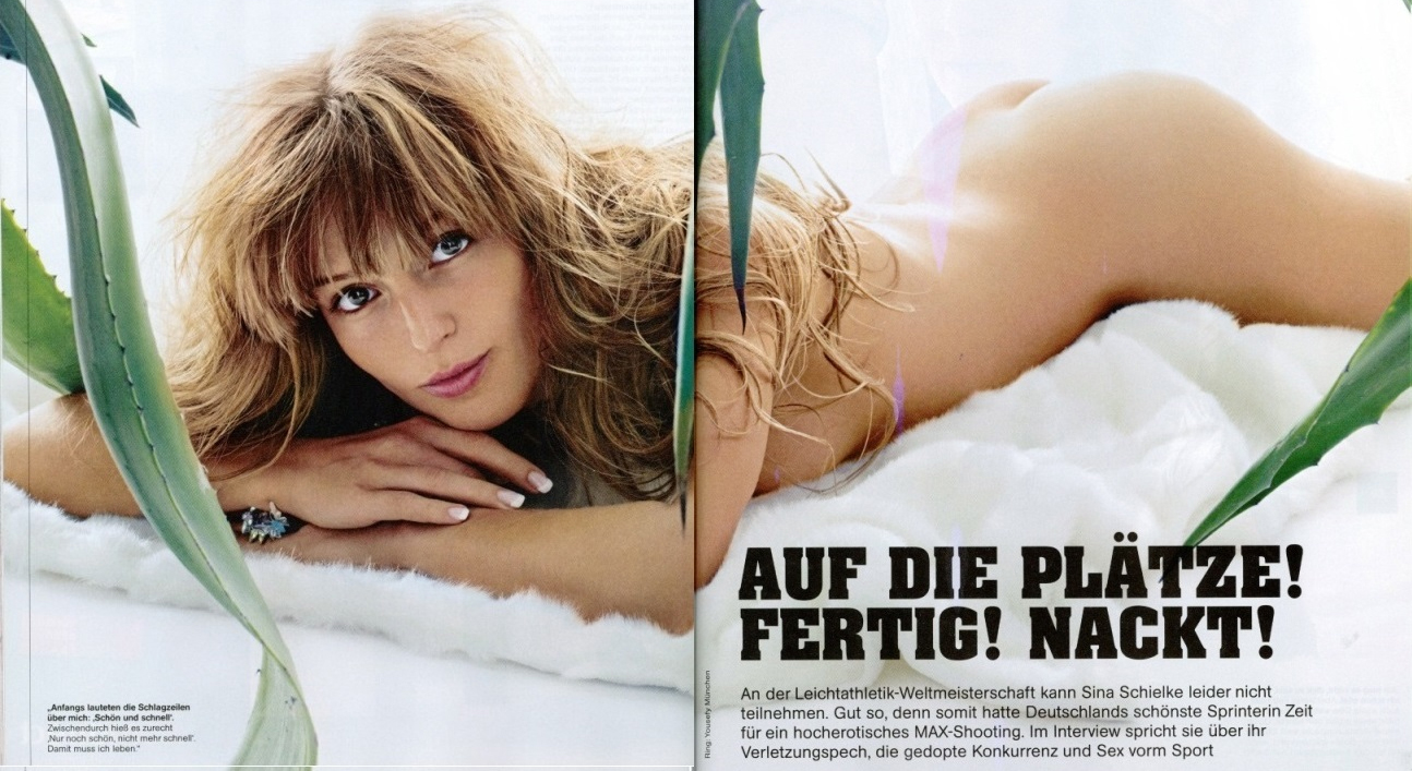 Sina Schielke Nackt. Foto - 22