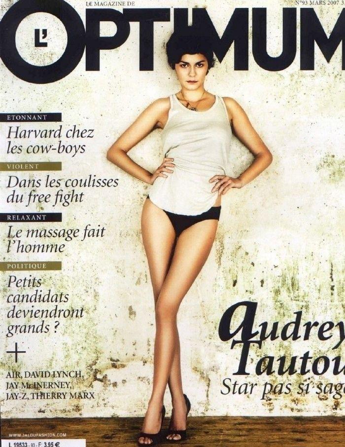 Audrey Tautou desnuda o casi
