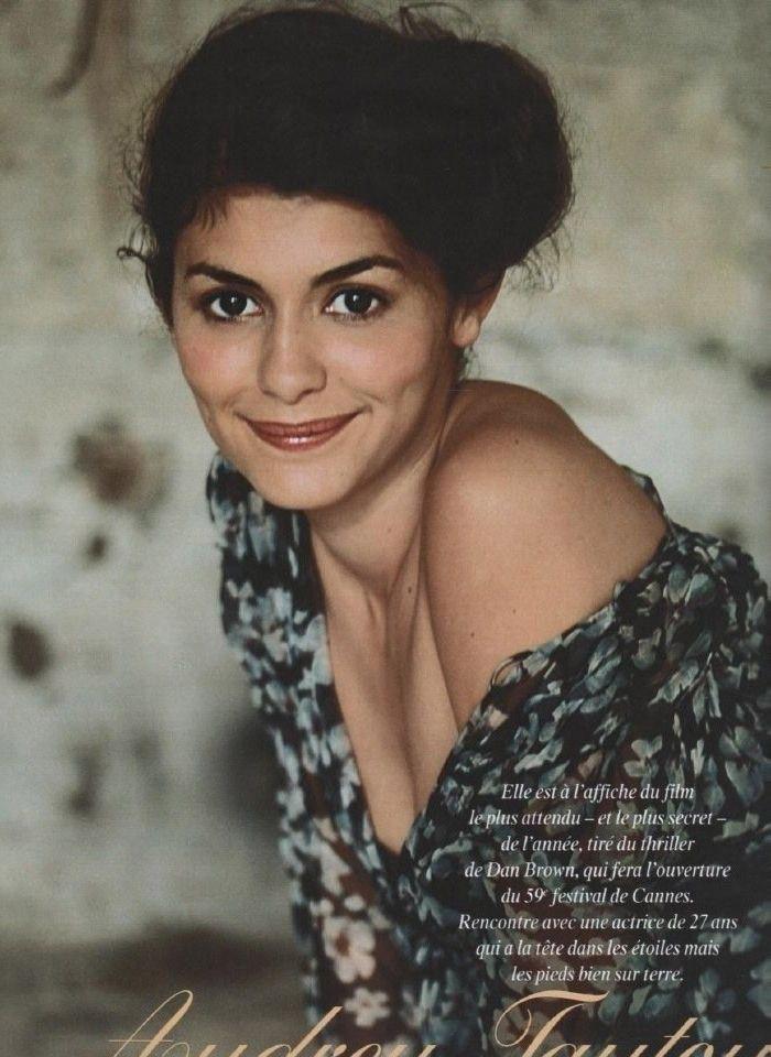 Audrey Tautou Nago. Zdjęcie - 7
