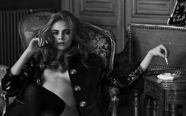 Cara Delevingne desnuda, la última colección