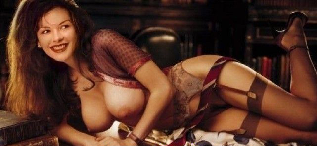 Кэтрин Зета-Джонс голая. Фото - 163