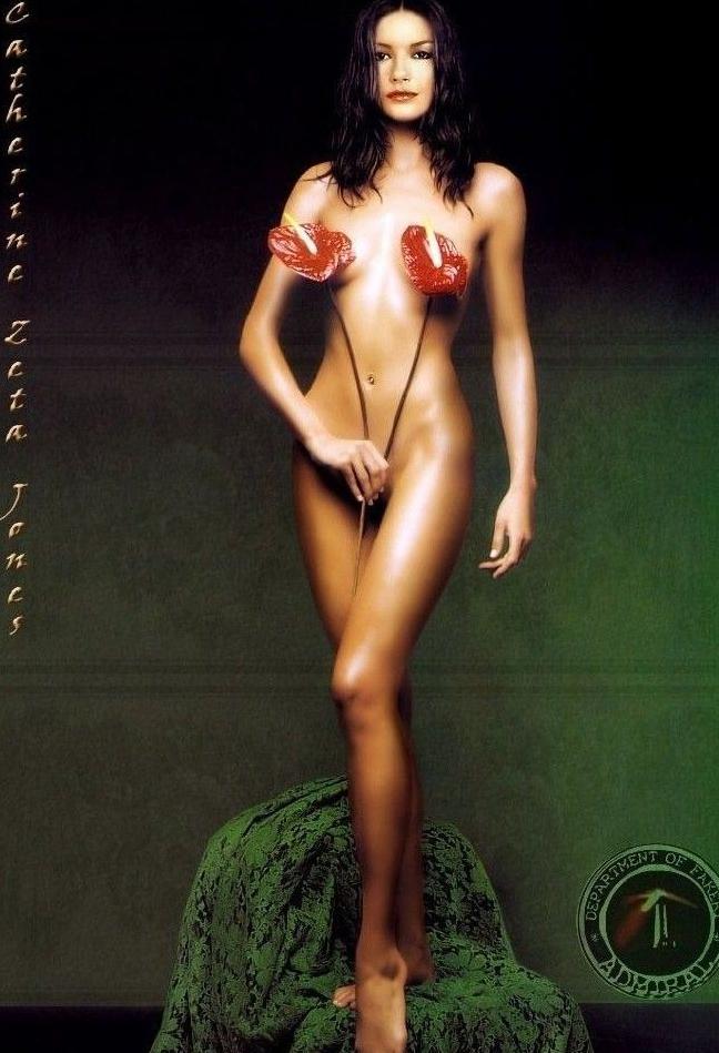 Catherine Zeta-Jones Nago. Zdjęcie - 71