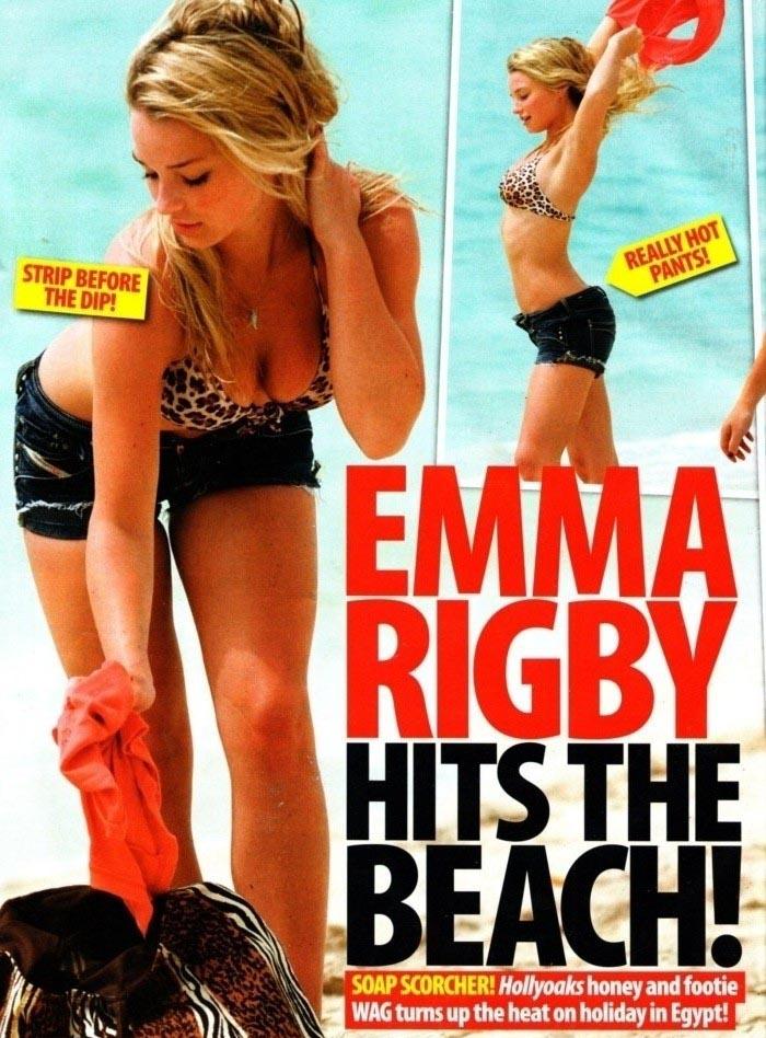 Emma Rigby Nackt. Foto - 7