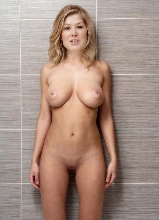 ¡Ay! Rosamund Pike Sexy Desnuda Fotos