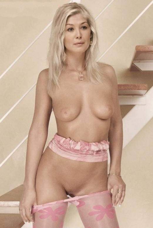 Naked Rosamund Pike In The Man With The Iron Heart Ancensored