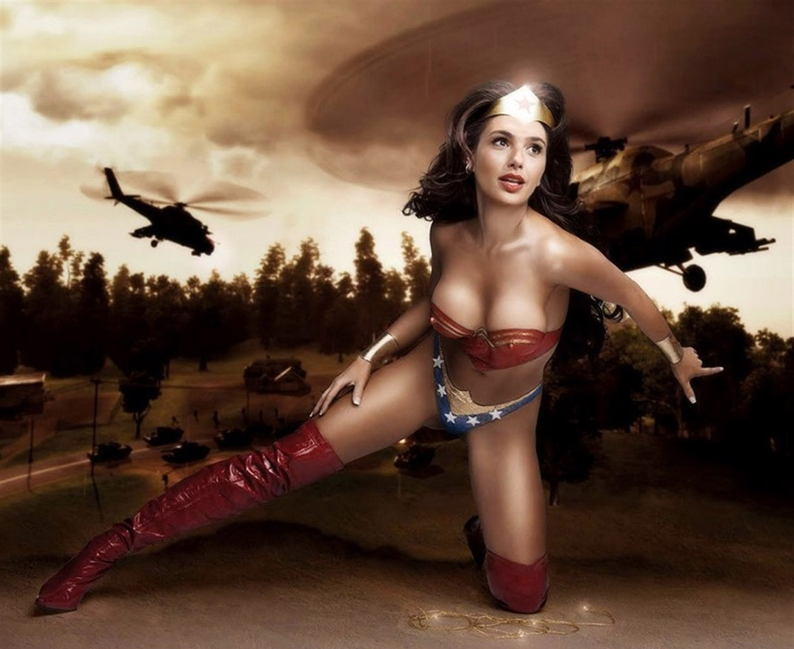 «Wonder Woman» Gal Gadot shocking nude sex pics. Gallery - 11