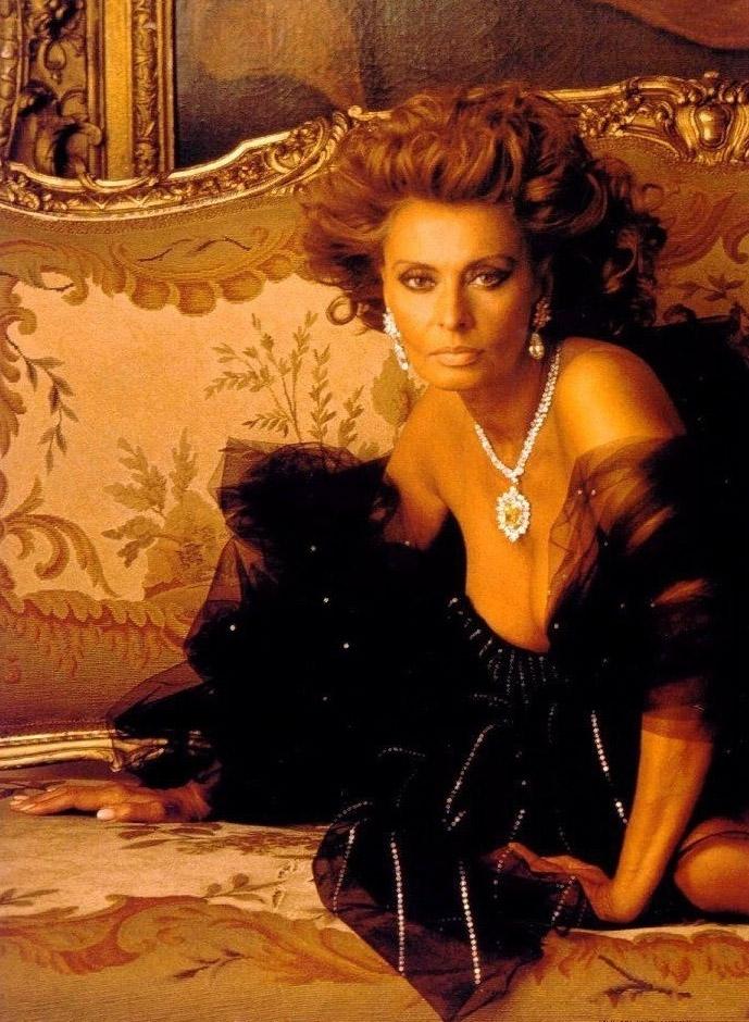 Sophia Loren Nago. Zdjęcie - 10