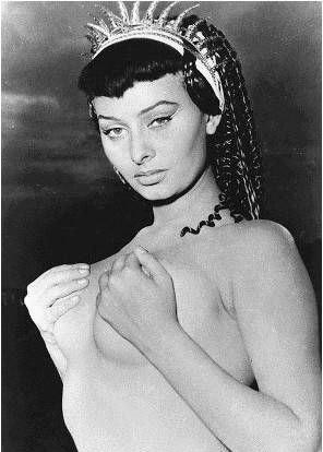 Sophia Loren Nago. Zdjęcie - 20