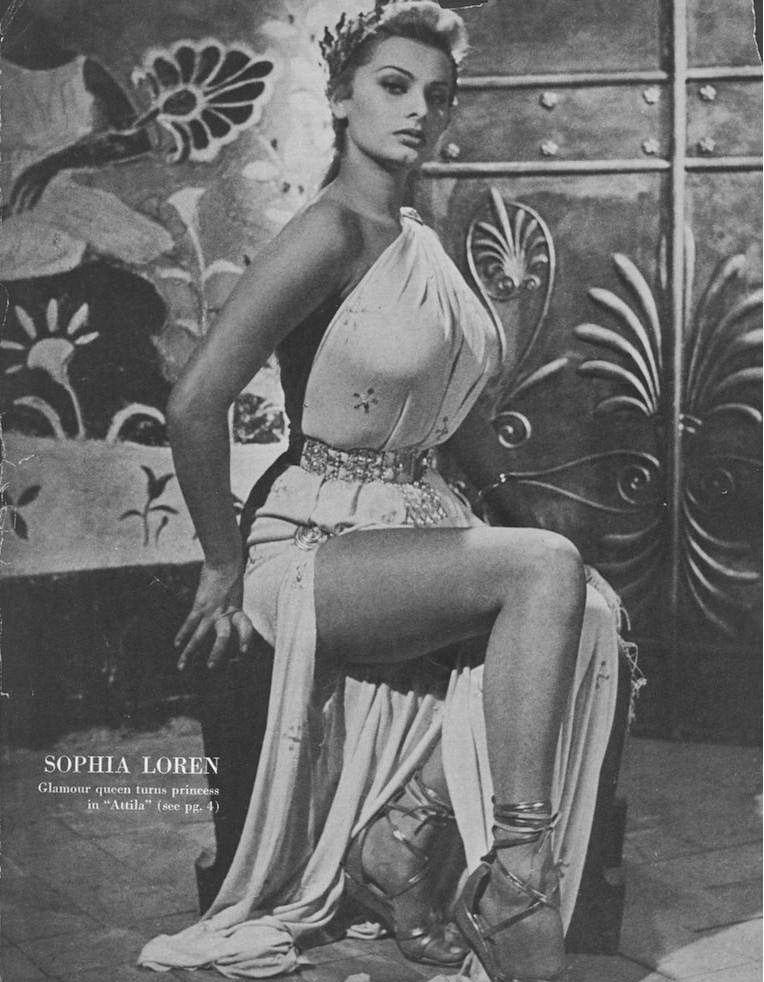 Sophia Loren Nago. Zdjęcie - 29