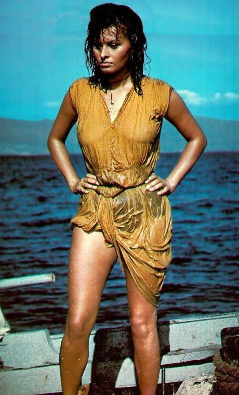 Sophia Loren Nago. Zdjęcie - 31