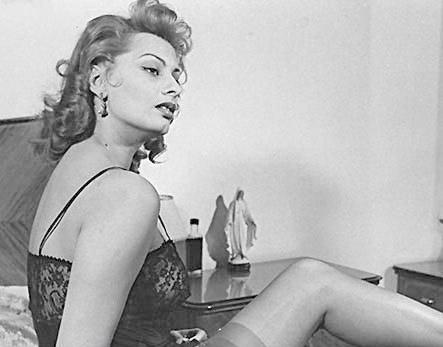 Sophia Loren Nago. Zdjęcie - 34