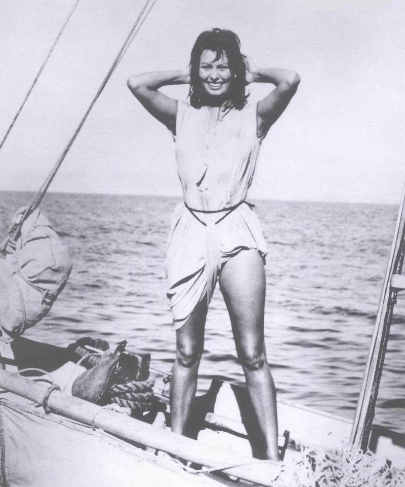Sophia Loren Nago. Zdjęcie - 36