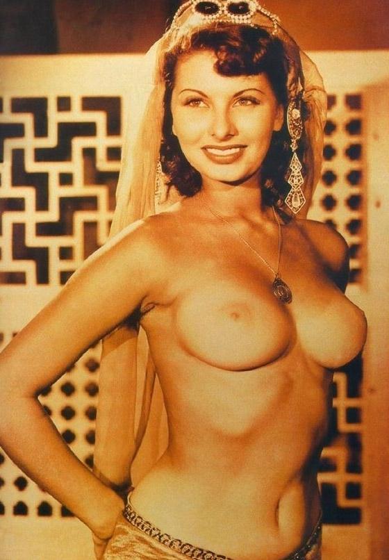 Sophia Loren Nago. Zdjęcie - 4