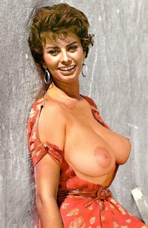 Sophia Loren Nago. Zdjęcie - 47