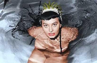 Sophia Loren Nago. Zdjęcie - 5