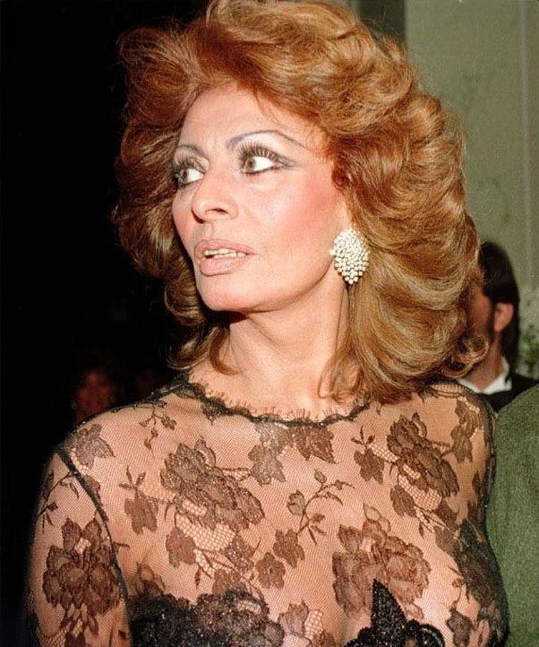 Sophia Loren Nago. Zdjęcie - 7
