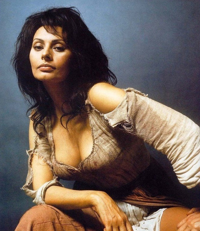 Sophia Loren Nago. Zdjęcie - 8